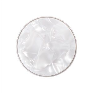 PopGrip Luxe in Pearl White by PopSockets